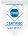 Total Metalworks Inc is CWB W47.1 Certified