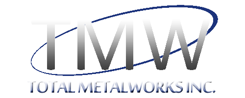 Total Metalworks Inc - Calgary Custom Metal Fabrication - Complete manufacturing process from cutting, shearing, forming, rolling, assembly and welding the final product to installation
